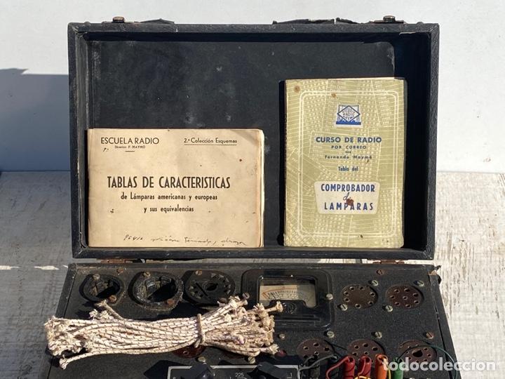 Radios antiguas: Antiguo comprobador de valvulas de radio - Foto 4 - 278810028