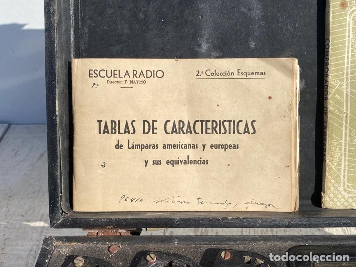 Radios antiguas: Antiguo comprobador de valvulas de radio - Foto 5 - 278810028