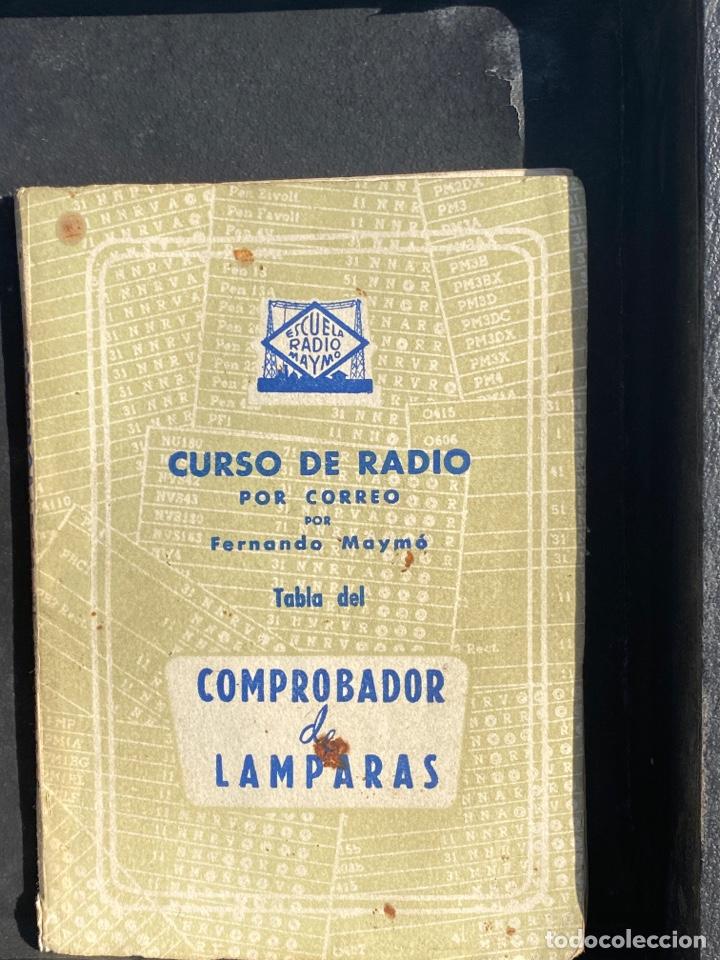 Radios antiguas: Antiguo comprobador de valvulas de radio - Foto 6 - 278810028