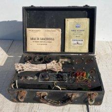 Radios antiguas: ANTIGUO COMPROBADOR DE VALVULAS DE RADIO. Lote 278810028