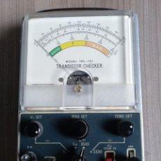 Rádios antigos: ELECTRONICA, ANTIGUO APARATO COMPROBADOR TRANSISTORES, TRANSISTOR CHECKER TRC 101. Lote 283832858