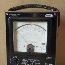 Rádios antigos: ANTIGUO APARATO DE MEDIDA O TESTER: MIDEX. LME (LABORATORIO DE METROLOGIA ELECTRÓNICA) - AÑOS 50/60. Lote 284152828