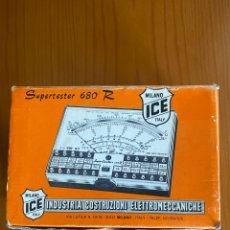Radios antiguas: SUPERTESTER 680 R ICE MILANO. Lote 288481603
