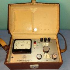 Radios antiguas: MEDIDOR DE CAMPO DE POTENCIA PARA RADIO Y TV TES (MISURATORE DI CAMPO) MOD. MC 661-C MILANO ITALIA. Lote 291486903