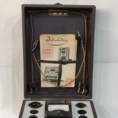 Radios antiguas: RADIOMÉTRICO, PROBADOR DE VÁVULAS, RADIO 1946 RADIO. Lote 291915903