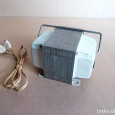 Radios antiguas: TRANSFORMADOR RECTIFICADOR DE CORRIENTE DE 125 V A 220 V O VICEVERSA 220V A 125V - 750 W CON CABLE. Lote 294483498