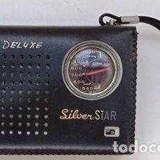 Radios antiguas: RADIO TRANSISTOR, MARCA SILVER STAR, HI FI DELUXE. RADIOTRAN-08. Lote 295505378