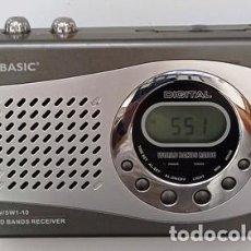 Radios antiguas: RADIO TRANSISTOR, MARCA PRO BASIC, DIGITAL. RADIOTRAN-09. Lote 295505948
