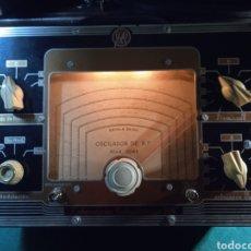 Radios antiguas: GENERADOR DE RF Y BF. Lote 296780653