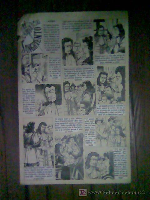 EL CAPITAN SANGRIENTO - CAPTAIN BLOOD - 1 PAGES ORIGINAL COMIC ART 35 X 25  CM