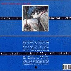 Cómics: ENKI BILAL - JILL BIOSKOP - CAJA DE 18 LAMINAS APAISADAS (LES HUMANOIDES ASSOCIES,1999). Lote 2777017