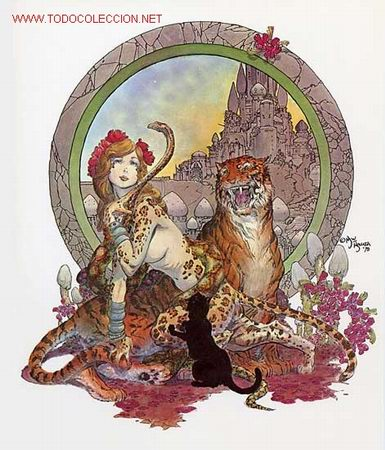 MIKE KALUTA - CHILDREN OF THE TWILIGHT PORTFOLIO (SAL QUARTUCCIO PRODUCTIONS,1979) (Tebeos y Comics - Art Comic)