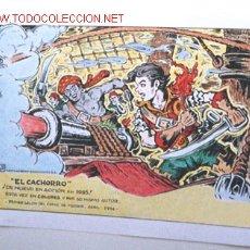 Cómics: CARTEL DE EL CACHORRO, DE IRANZO. Lote 27199360
