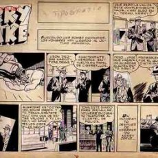 Cómics: PLANCHA ORIGINAL KERRY DRAKE CON SELLO DE AUTENTICIDAD !. Lote 18418686