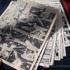 Cómics: RED DIXON AVENTURA COMPLETA ORIGINAL 10 HOJAS ALMANAQUE VER FOTOS . Lote 27015940