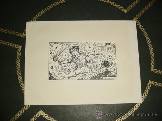 EL CACHORRO. !! ORIGINAL DE IRANZO !! (Tebeos y Comics - Art Comic)