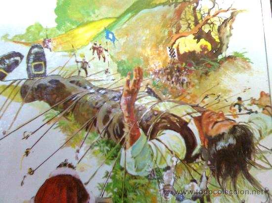 DAVID MORTON-MIS LAMINÁ-S POP-SERIE APHA 70´S- JOSE MARÍA MIRALLES - GULLIVER (SWIFT) - CARTULINA A4 (Tebeos y Comics - Art Comic)
