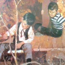 Cómics: DAVID MORTON-MIS LAMINÁ-S POP-SERIE APHA 70´S- JOSE Mª MIRALLES-HOMBRECITOS 2 (ALCOTT)-CARTULINA A4. Lote 106036878