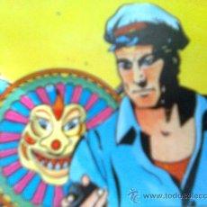Cómics: DAVID MORTON-MIS LAMINÁ-S POP - SERIE KING FEATURES - JIM DE LA JUNGLA (JUNGLE JIM) - CARTULINA A4. Lote 122641142