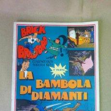 Cómics: COMIC, BRICK BRADFORD, Nº20 , LA BAMBOLA DE DIAMANTI, 2º PARTE, EN ITALIANO , COMICS-ART, 1977,. Lote 23016737