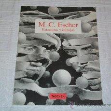 Cómics: LIBRO - M.C. ESCHER - ESTAMPAS Y DIBUJOS - ED TASCHER 1994. Lote 29438293