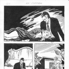 Comics : PLANCHA ORIGINAL DE JOSÉ ANTONIO DE HUÉSCAR. Lote 29642038
