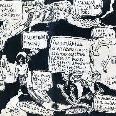 Cómics: LLUÍS VALLÉS - ORIGINAL PARA COMIC. Lote 30439781