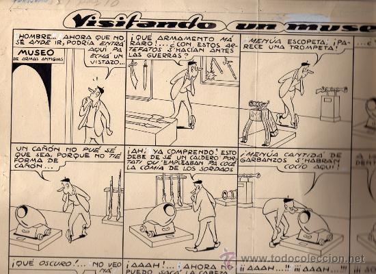 OTRA LÁMINA ORIGINAL DE COLL (Tebeos y Comics - Art Comic)