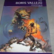 Cómics: THE BORIS VALLEJO PORTFOLIO. PAPER TIGER 2000. NUEVO Y MUY DIFÍCIL!!!!!!!!!!!!. Lote 34863210