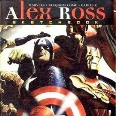 Cómics: ALEX ROSS .- SKETCHBOOK. Lote 35322924
