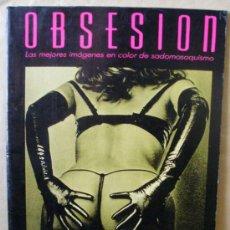 Comics: OBSESION 2 - IMAGENES DE SADOMASOQUISMO - ED ANTALBE, AÑO 1987, GRAN FORMATO. Lote 36378629