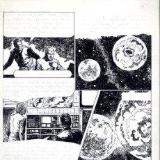 Cómics: ART COMIC ADOLFO A. BUYLLA CIENCIA FICCION USA 36.5 X 42.5 CARPETA AMARILLA. Lote 36951116