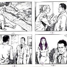 Cómics: ART COMIC TIRAS DE PRENSA ADOLFO A. BUYLLA 25.5 X 21.5 CARPETA AMARILLA. Lote 36951284
