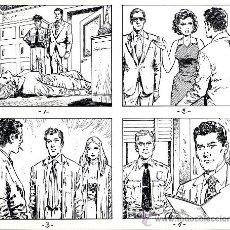 Cómics: ART COMIC AFOLFO A. BUYLLA TIRAS DE PRENSA 25.5 X 21.5. Lote 36951320