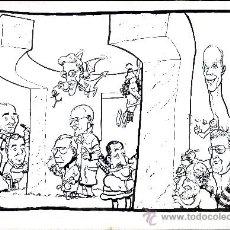 Cómics: ART PAU PORTADA EL WENDIGO 43X 35 BUSCEMA, PAU, GASPAR MENANA,SERGIO ARAGONES , DAVIS LLOYD, SHULT. Lote 37183321