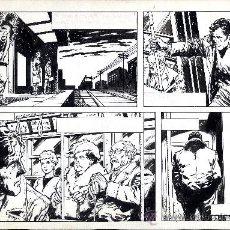 Cómics: ART COMIC ORIGINAL ADOLFO BUYLLA 43,2 X 30 CIENCIA FICCIÓN U.S.A.. Lote 37224400
