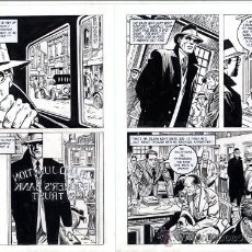 Cómics: ART COMIC ORIGINAL DE GARCÍA LOPEZ GENIAL 35 X51. Lote 37261294