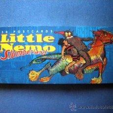 Cómics: LIBRO DE 30 POSTALES DE LITTLE NEMO IN SLUMBERLAND WINSOR MCCAY 1996 INGLES 24X10 . Lote 37302135