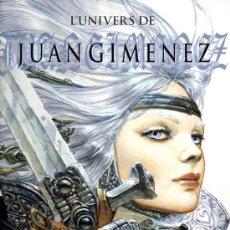 Cómics: L'UNIVERS DE JUAN GIMENEZ (LA SIRENE,2002) - ART BOOK - TAPA DURA. Lote 38642031