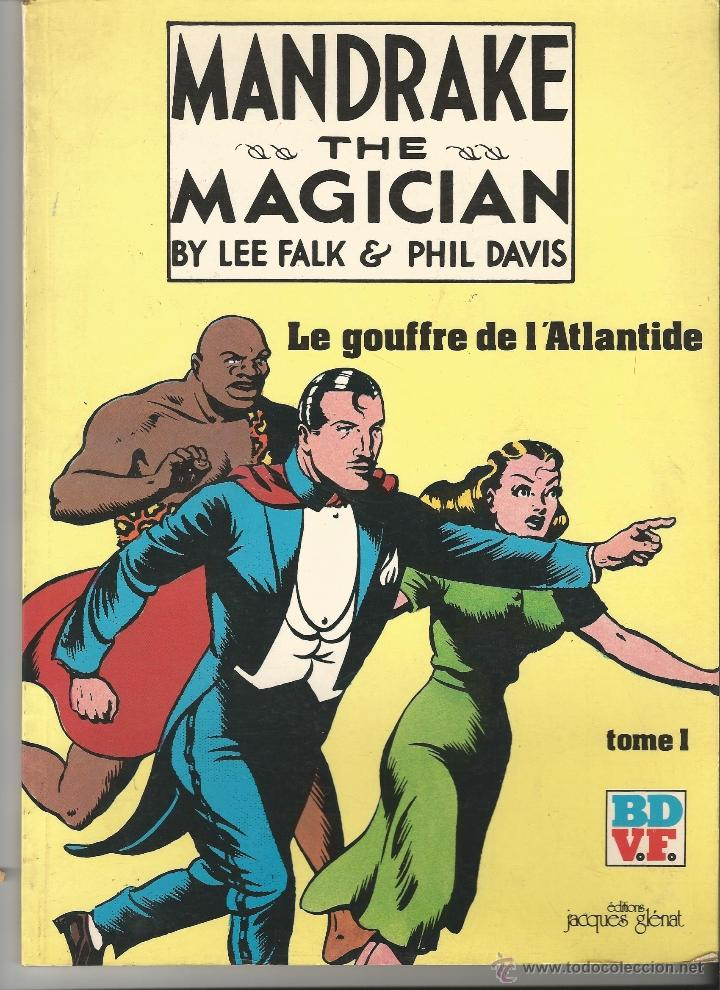 MANDRAKE AND THE MAGICIAN--------BY LEE FALK (Tebeos y Comics - Art Comic)