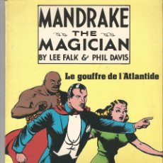 Cómics: MANDRAKE AND THE MAGICIAN--------BY LEE FALK. Lote 39400270