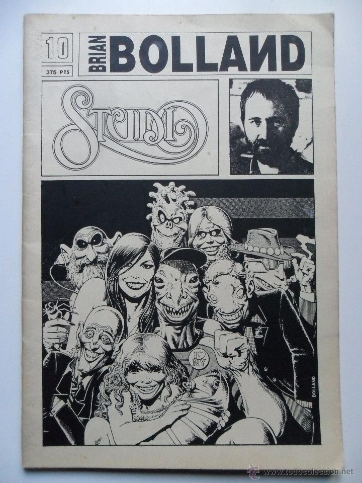 STUDIO Nº 10 . BRIAN BOLLAND (Tebeos y Comics - Art Comic)