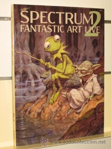Spectrum fantastic art live 2 (ilustración) - Sold through