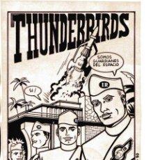 Cómics: MONTANA (XAVIER MUNTADA PÉREZ) THUNDERBIRDS ORIGINAL TINTA PUBLICADO EN EL DADO Nº 3 EN 1990. Lote 40917298