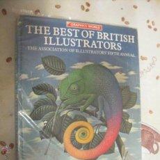 Cómics: THE BEST OF BRITISH ILLUSTRATORS ILUSTRACIONES. Lote 40581269