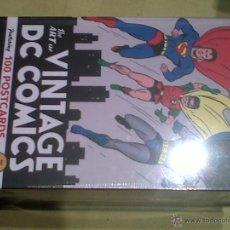 Cómics: DC COMICS CAJA 100 POSTALES PRECINTADA SIN ESTRENAR BATMAN SUPERMAN FLASH GREEN LANTERN WONDER WOMAN. Lote 42030653