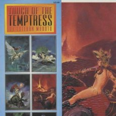 Cómics: ESTEBAN MAROTO - TOUCH OF TEMPTRESS PORTFOLIO (SQP,1994) - 6 LAMINAS EN COLOR. Lote 42177250