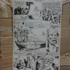 Cómics: ROBINSON CRUSOE.MUNDICOMICS CLÁSICOS(VÉRTICE) MARVEL CLASSICS.PÁGINA ORIGINAL ART COMIC. Lote 42288048