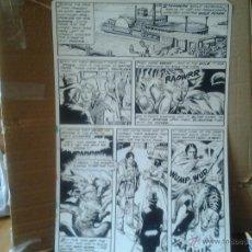 Cómics: COLMILLO BLANCO.MARVEL CLASSICS#32.THE TRIBE.PÁGINA ORIGINAL ART COMIC. Lote 42397493
