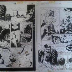 Cómics: BATMAN.LA SOMBRA DEL MURCIÉLAGO,2P,MARK BUCKINGHAM,PREMIO EISNER.PÁGINA ORIGINAL ART COMIC. Lote 42398445